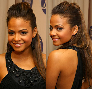 Love It or Hate It? Christina Milian's Half-Up 'Do