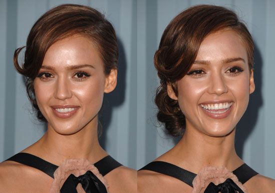 Love It or Hate It? Jessica Alba's '40s-Inspired Hair