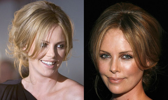 Love It or Hate It? Charlize Theron's Mod Updo