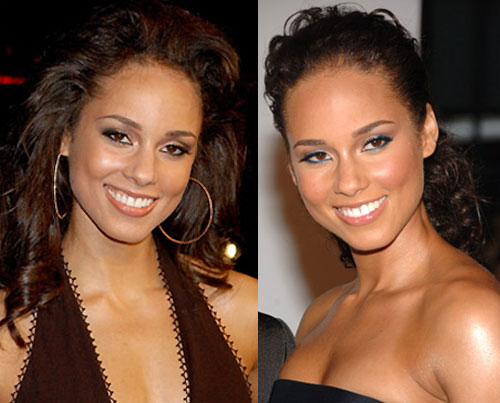 What Color Eyeliner Looks Better on Alicia Keys?