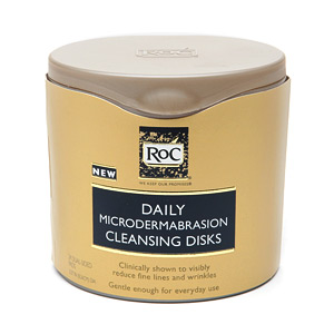 Doing Drugstore: RoC Daily Microdermabrasion Cleansing Disks