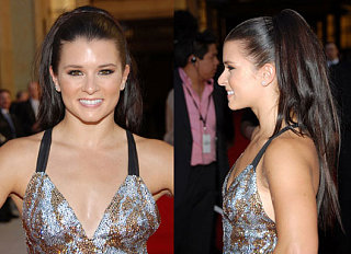 Love It or Hate It? Danica Patrick's Long Backswept Locks