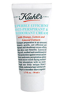 Bellissima! Kiehl's Superbly Efficient Anti-Perspirant & Deodorant Cream