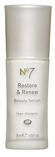 Boots No. 7 Restore and Renew is Available Now