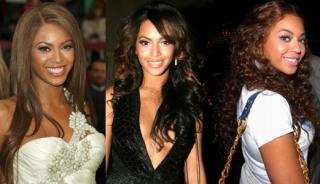 What Hairstyle Looks Best On Beyonce's Brown Hair?