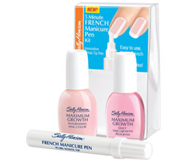 User Review: I Am Elle on Sally Hansen 5 Minute French Manicure Pen Kit
