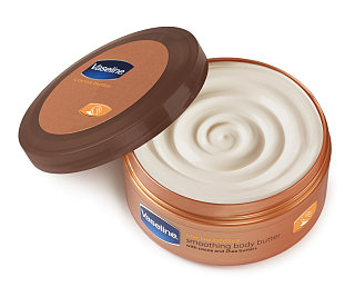 Doing Drugstore: Vaseline Cocoa Butter Smoothing Body Butter