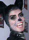 How To Get Cat Makeup For Halloween. Photo of Heidi Klum as Cat Fancy Dress Party