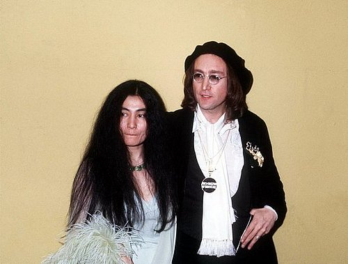 Yoko Ono as a Beauty Icon