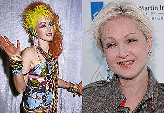 Do You Like Cyndi Lauper's Hair All Blond or Multi-Colored?