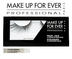 12 Days of Beauty Giveaway: Make Up For Ever False Eyelashes
