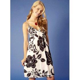 TROPICAL PRINT: Zinc Island Floral Print Tank Dress