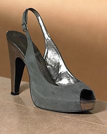 Peep-Toe Slingback at Spiegel.com
