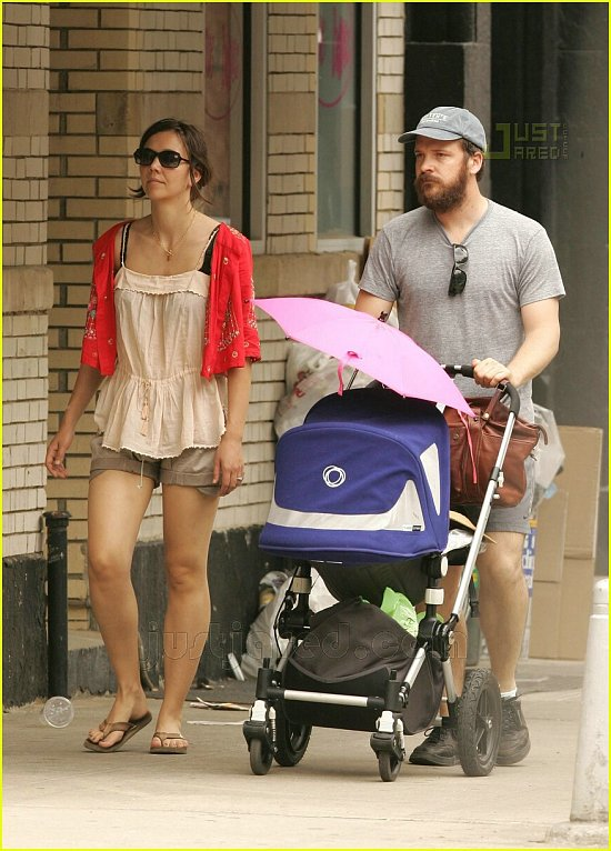 Maggie, Peter, and Baby Ramona celebrate Memorial Day
