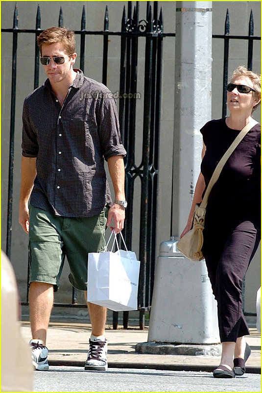 Jake Out Shopping With His Mom