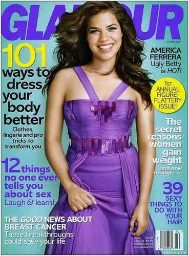 America Ferrera for Glamour October 2007