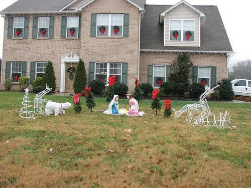 Christmas Decorations Gone Wild