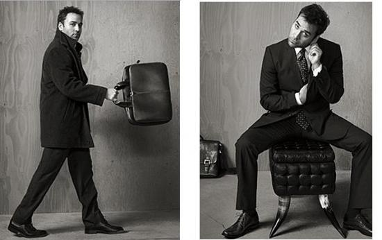 Jeremy Piven is a model!