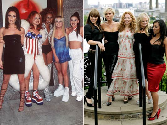 Now or Then-Spice Girls