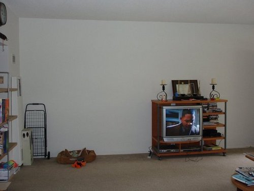 ferm Contest: Blah Living Room Wall