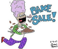 Would you stop if you saw a bake sale on the side of the road?