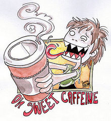 I get my caffeine from