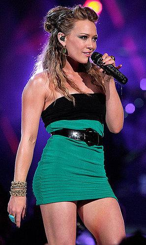 Hilary Duff love or hate her dress?