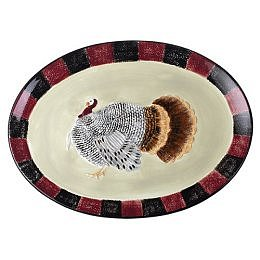 Harvest Turkey Serving Platter