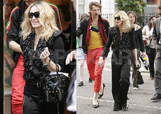 Madonna Gets Cozy With Gogol Bordello