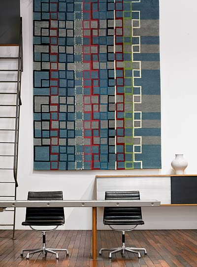 Nice and New: Stolzl Plate 160 Rug at DWR