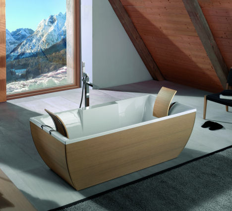 Crave Worthy: WS Bath Kali'-Art Peninsula Tub