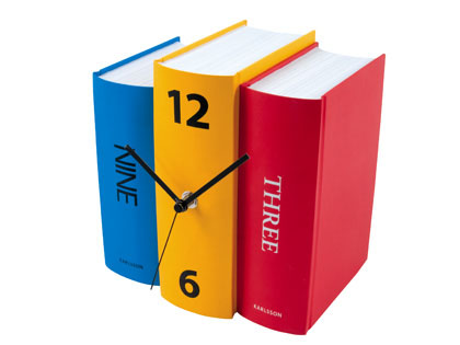 Love It or Hate It? Book Clock by Sjoerd van Heumen