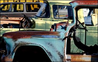 Midday Muse: Beauty in Rusted Cars