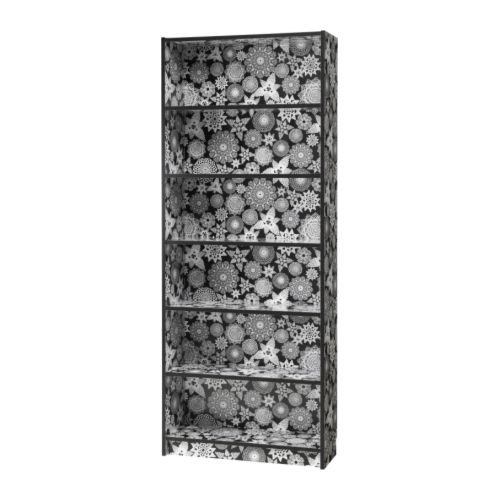 Nice and New: Black-and-White Ikea Billy Bookcase
