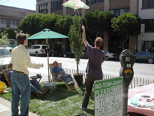 Cool Idea:  Park(ing) Day