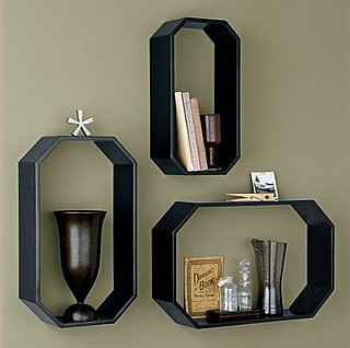 Steal of the Day: The Company Store Octagon Wall Shelves