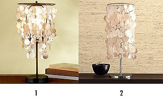 Less or More: Capiz Table Lamps
