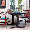 Steal of the Day: Ebony Trestle Table