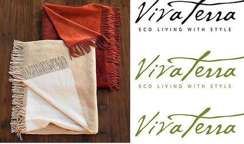 Win This VivaTerra Reversible Silk Throw!