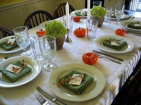 Table Inspiration:  Thanksgiving Settings