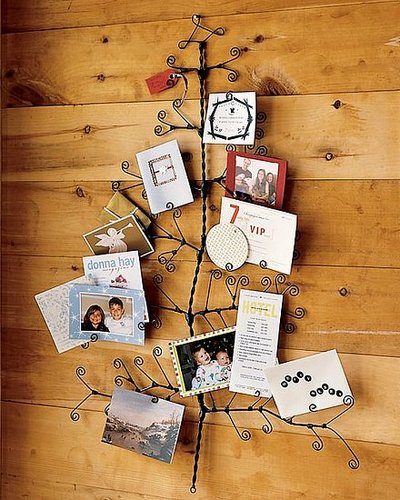 Deck the Haus: Pottery Barn Tree Card Holder