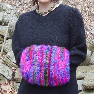Make your own Woollen Hand Muff