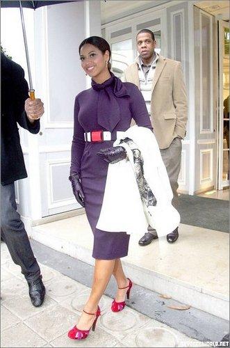Beyonce keeping it Classy
