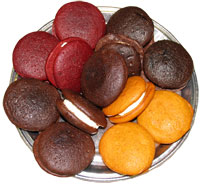 Red Velvet Whoopie Pies (for ALSW)