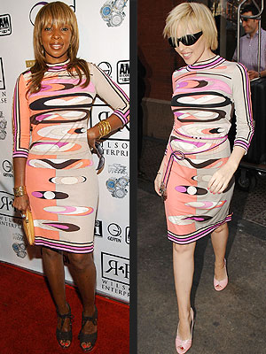 Fashion Faceoff: Mary J Blige vs. Kylie Minogue