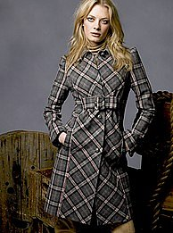 Victoria&#039;s Secret - Buckle-front coat
