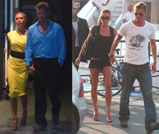The Vacation is Over for the Beckhams