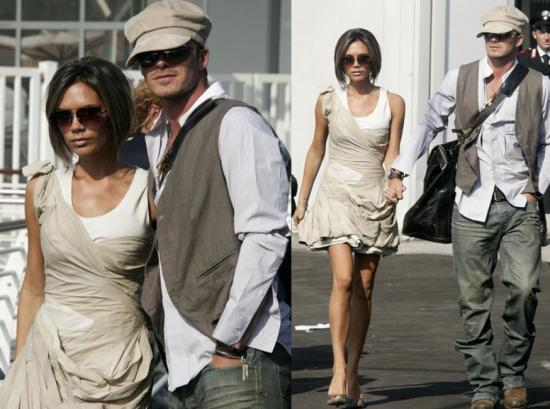 The Beckhams Hit Venice