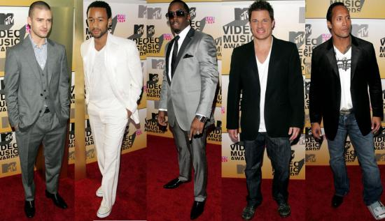 The Men Arrive at the VMAs