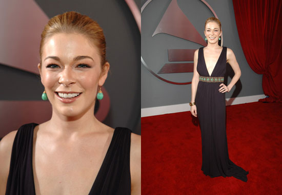 The Grammys Red Carpet: LeAnn Rimes